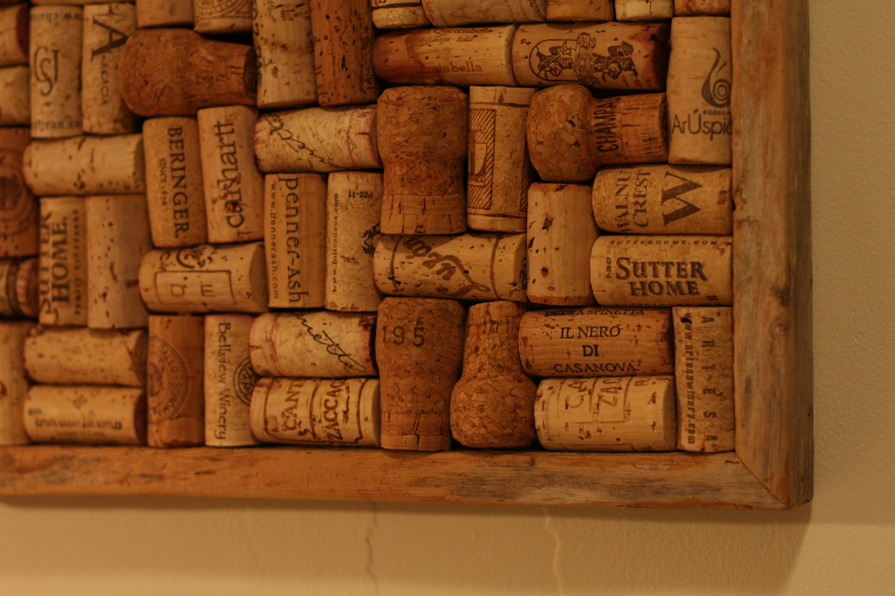 Upcycled wine cork boards – reclaimed LLC