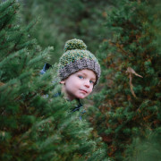 Always a good time to find the perfect tree. Kids make it special.
