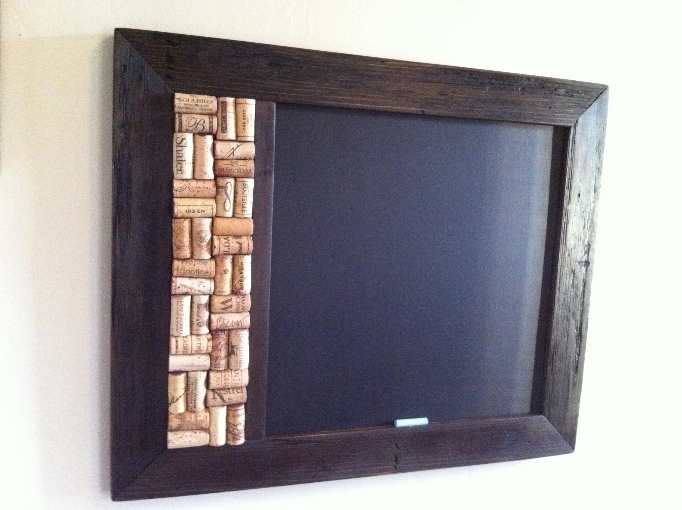 Chalk Cork Board